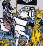 La muerte, según el tarot Rider-Waite.