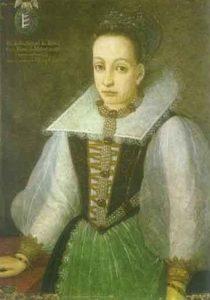 """Erzsébet Báthory, quien pasó a la historia por una serie de crímenes motivados por su obsesión por la belleza que le han valido el sobrenombre de la """"condesa sangrienta""""."""