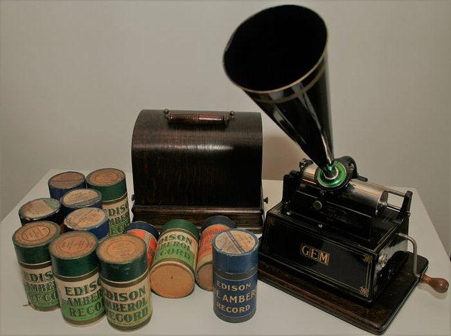 Fonógrafo de cilindro