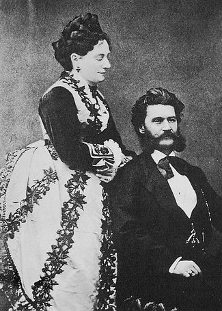 Hetty Treffz y Johann Strauss