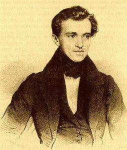 Johann Strauss (padre) fue un compositor austriaco autodidacta conocido particularmente por sus valses, aunque su obra más notoria es probablemente la 'Marcha Radetzky' (1848).