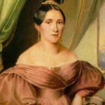 Maria Anna Streim (1801-1870), madre de la dinastía Strauss. Tuvieron seis hijos, los tres compositores, Johann, Josef y Eduard, y tres niñas, que no se dedicaron a la música.
