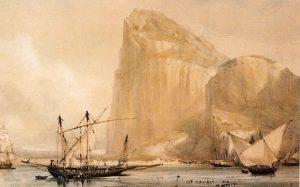 Gibraltar en el siglo XIX.