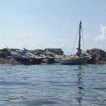 Lugar donde el capitán G. C. Parker encallara el Mary Celeste, en Haití, en 1884.