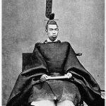 Mutsuhito (1852-1912), también conocido por su nombre póstumo Meiji Tennō.