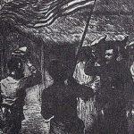 """La exploración del interior de África precedió al colonialismo: encuentro de Henry Morton Stanley, famoso por sus expediciones a la en aquel tiempo misteriosa África Central y David Livingstone, por entonces desaparecido sin rastro durante años. En ese momento Stanley pronunció su famosa frase: """"Doctor Livingstone, supongo""""."""