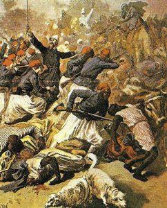 Francia aseguró por la fuerza su dominio en África del Norte.