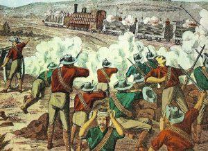 La rebelión de los bóers (colonos de origen neerlandés) hizo peligrar el dominio inglés en África del Sur.