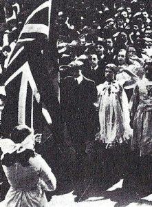Inglaterra celebrando el Día del Imperio.